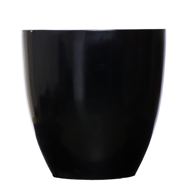 Black Shiny Pot