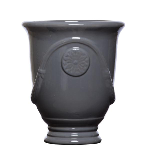 L. Grey Garland Urn