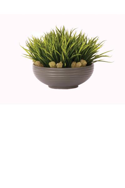 Sword Grass / Gray Bowl