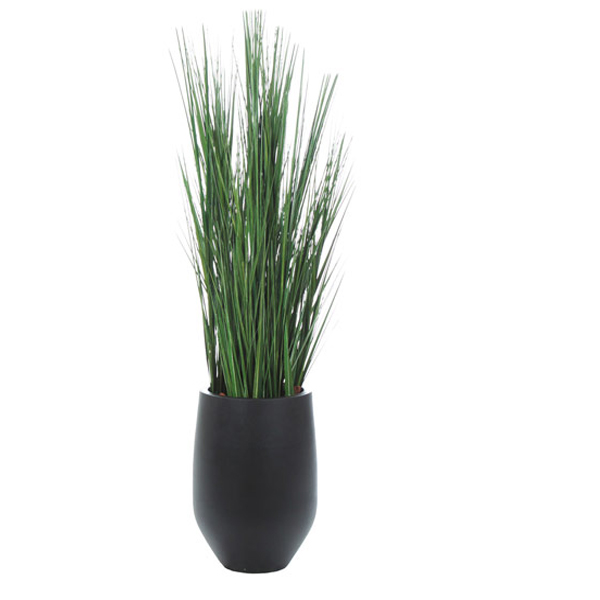 5.5-ft. Grass Tree in Black Container