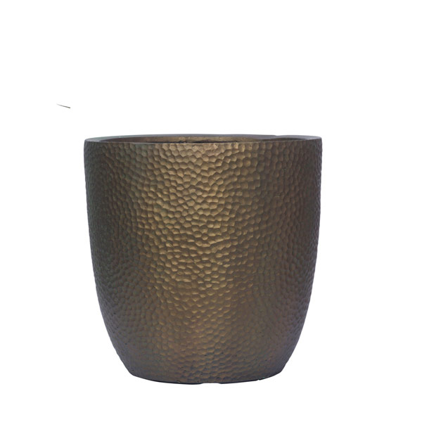 BRONZE DIMPLE POT
