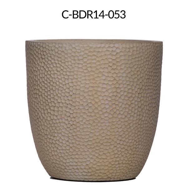 Double Black Bamboo in Tall Shiny Black Pot