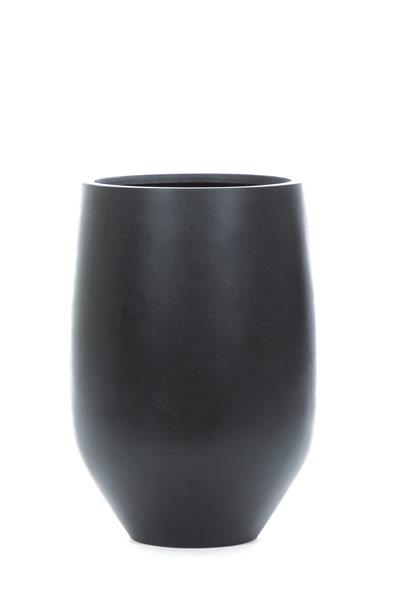 5' DRACENA IN BLACK CERAMIC POT