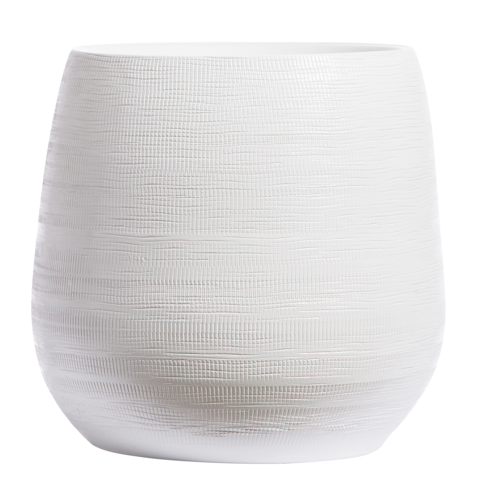 WHITE BENJI POT/ SMALL