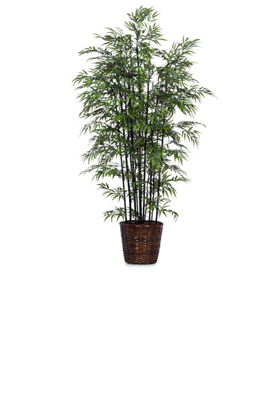 8.5' DELUXE BLACK BAMBOO/BASKET