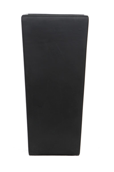 TALL BLACK SQUARE RESIN