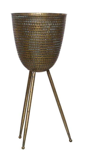 LARGE BRONZE PLANT STAND