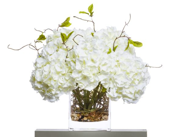 WHITE HYDRANGEA/WILLOW WATER LIKE