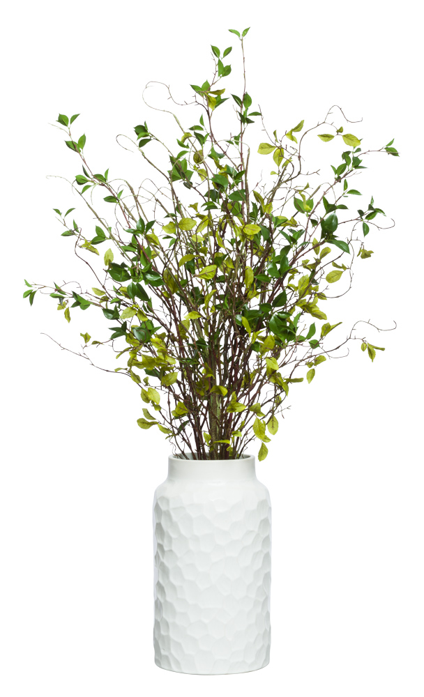 WILLOW BRANCH IN WHITE POT