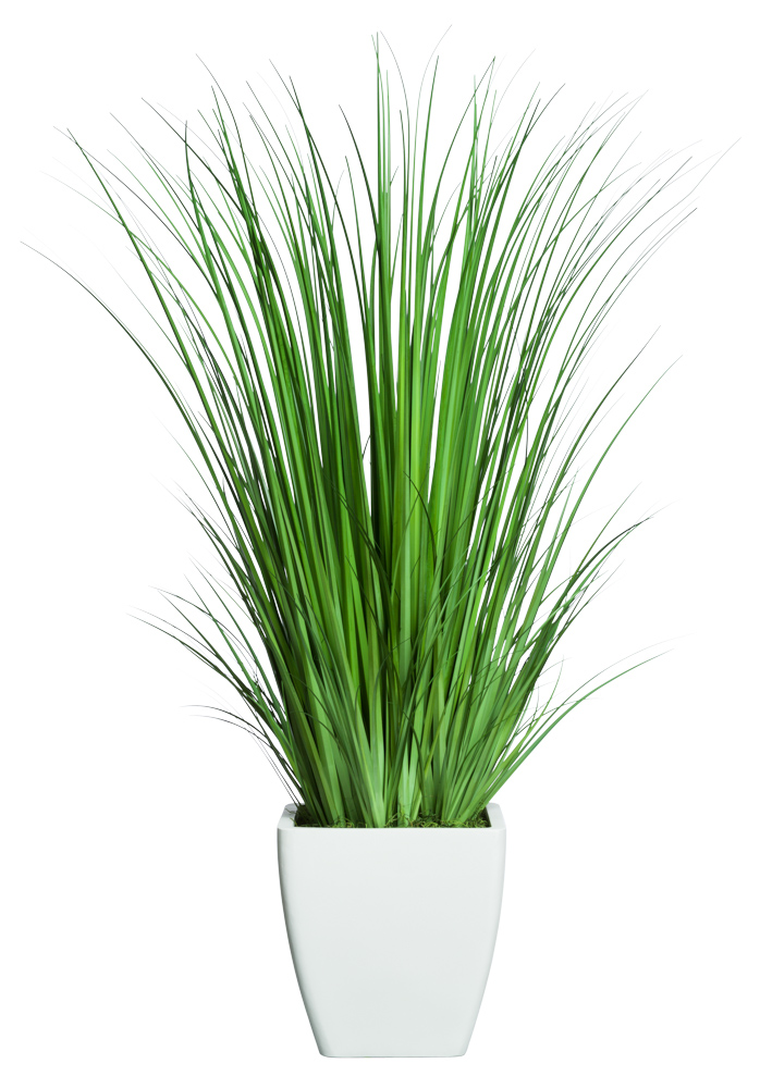 GRASS IN MEDIUM WHITE SANDSTONE SQUARE ( THIS ITEM WILL BE AVAILABLE IN MID-NOVEMBER 2021 )